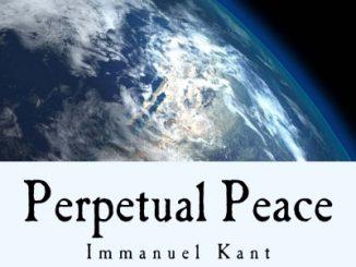 Immanuel Kant: Perpetual Peace. Credit to original owner