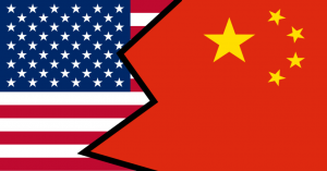 US-China Flag in Asia Pacific Rivalries